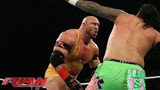 The Usos vs. RybAxel - WWE Tag Team Championship Match: Raw, April 28, 2014