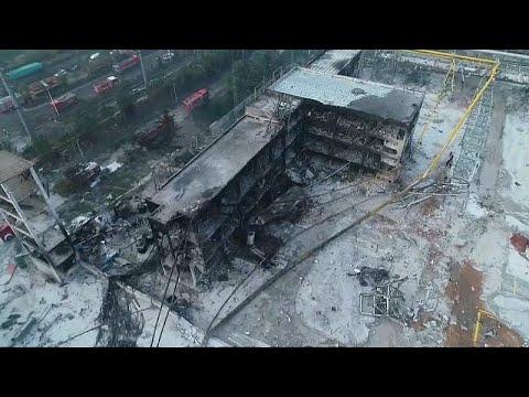 شاهد: دمار كبير خلفه انفجار في مصنع غاز بالصين راح ضحيته 10 أشخاص على الأقل…  - نشر قبل 3 ساعة