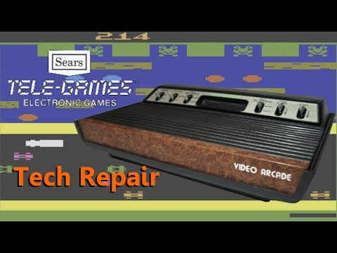 Tech Repair: Sears Tele-Games (Atari 2600) - Broken Port and RF Tuning