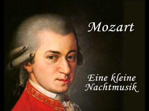 Wolfgang Amadeus Mozart: Eine kleine Nachtmusik (Serenade ...
