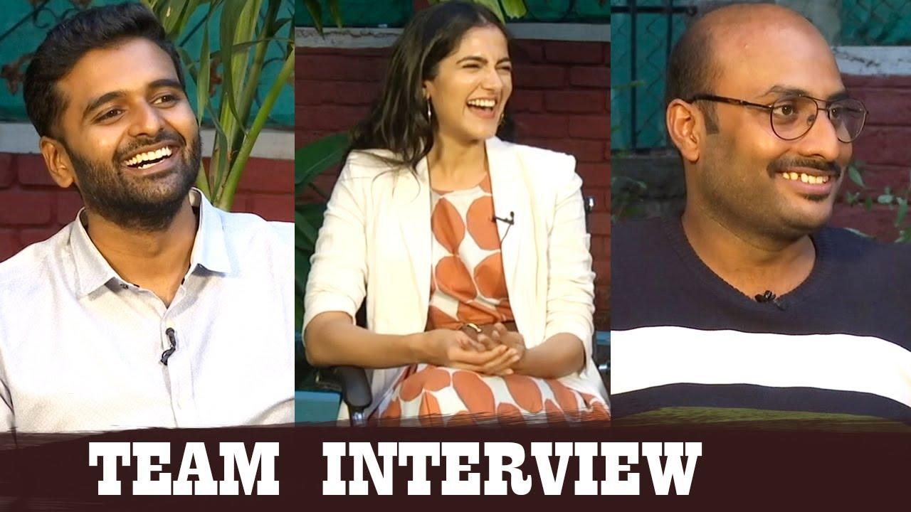 Bombhaat Movie Team EXCLUSIVE Interview | Sai Sushanth Reddy | Simran Chowdary | Raghavendra Varma