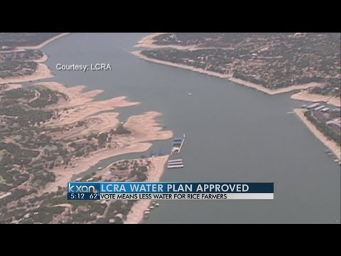 Lower Colorado River Authority relief request approved