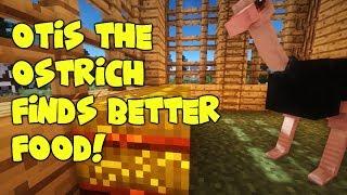 Otis the Ostrich Finds Better Food! MINECRAFT MOVIE SHORT
