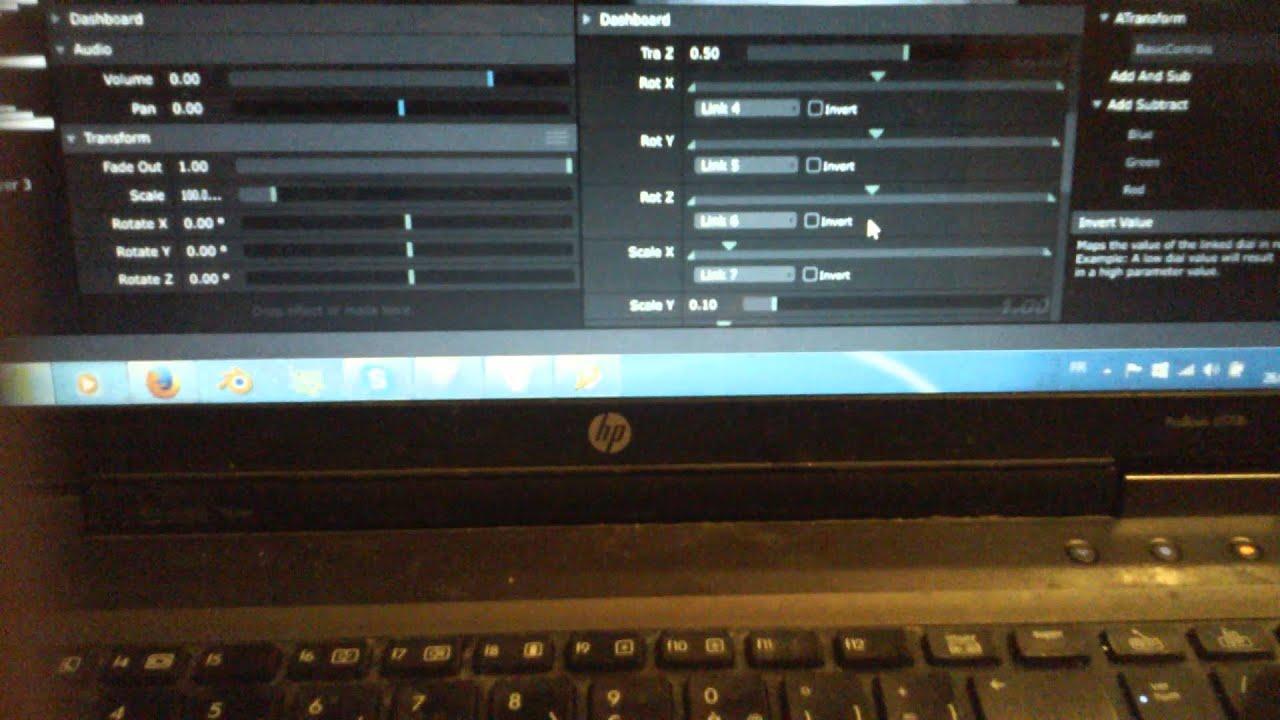 Resolume sequencer VJ stuffff t Lemur