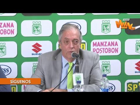 Conferencia de prensa con Reinaldo Rueda en Nacional