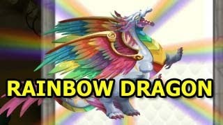 How To Breed RAINBOW DRAGON in Dragon City EASY