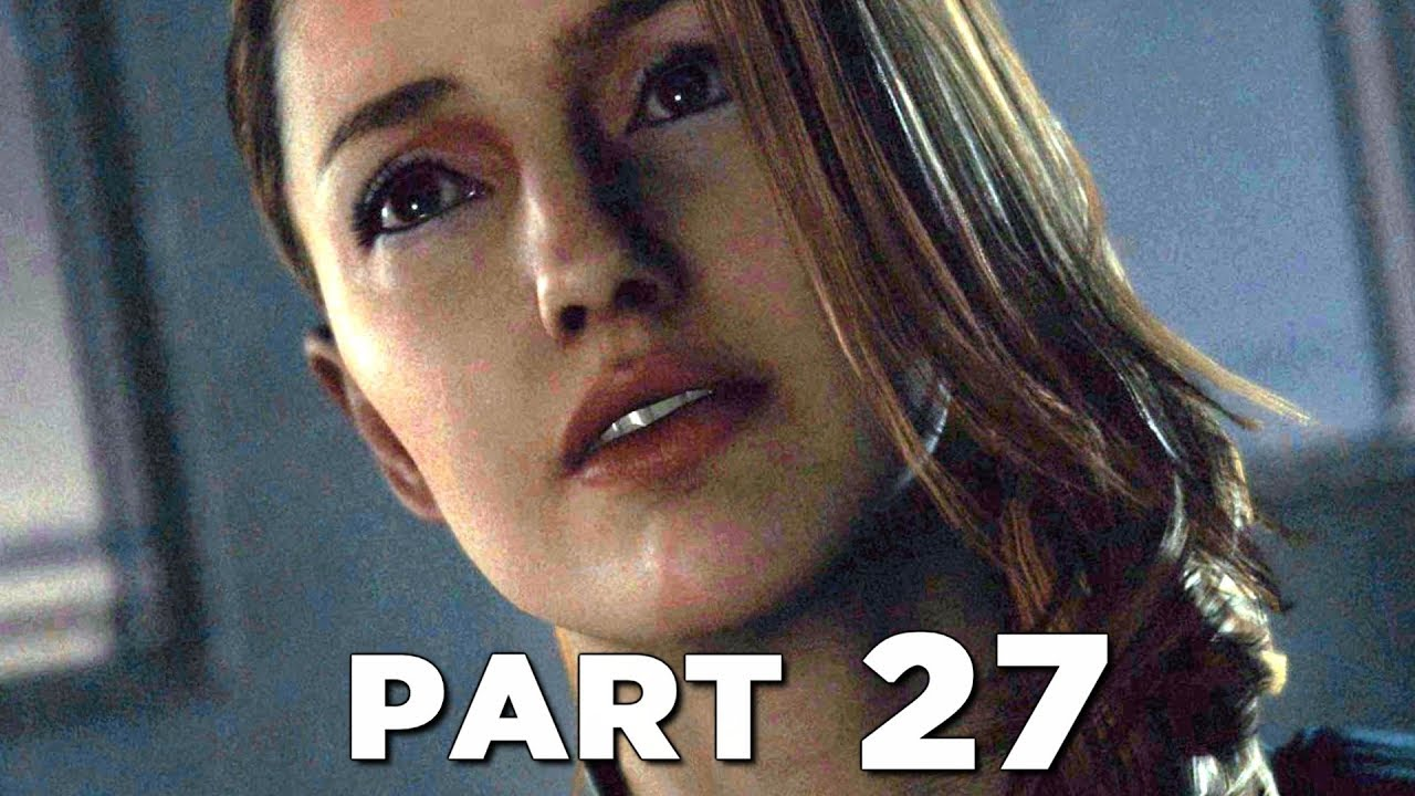 DETROIT BECOME HUMAN Walkthrough Gameplay Part 27 - THE SHIP (PS4 Pro)