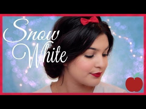 Snow White Makeup And Hair For LONG HAIR