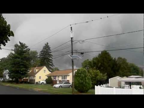 Tornado over Bellmawr NJ Sept 2012