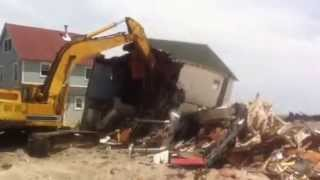 Hawks Nest Storm Demolition