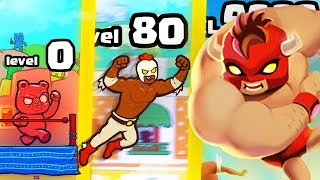 IS THIS THE STRONGEST HIGHEST LEVEL WRESTLER EVOLUTION? (9999+ BOSS) l Burrito Bison: Launcha Libre
