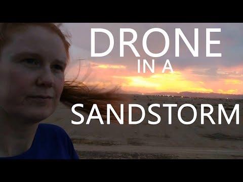 KEN HERON - Phantom Drone caught in a SANDSTORM