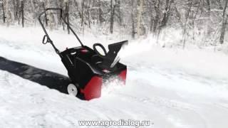 видео Снегоуборщики бензиновые и электрические - купить снегоуборщик Craftsman самоходный или несамоходный