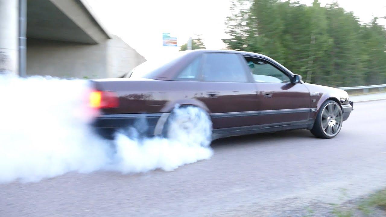 Audi S4 C4 Dyno and some fun!!