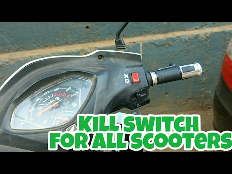 How to install Kill switch in scooters | Honda activa 3g