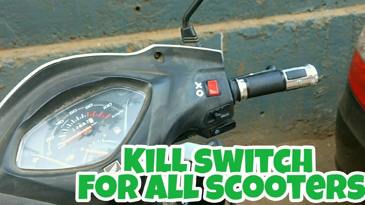 How to install Kill switch in scooters | Honda activa 3g - YouTube
