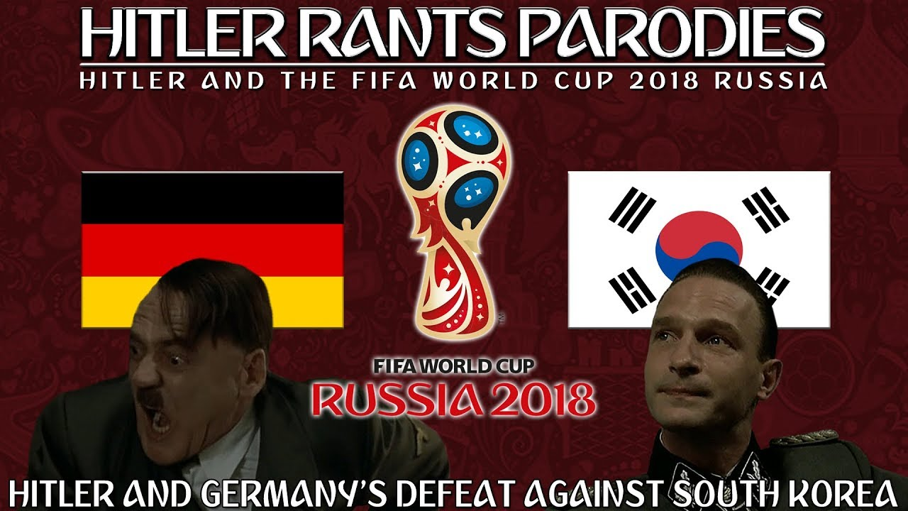 Hitler and Germany's defeat against South Korea in the World Cup