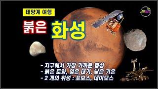 [태양계 천체] 붉은 화성, 화성의 개관, 지구에서 본…