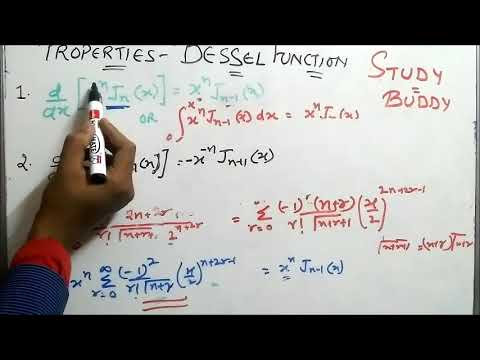 Properties Bessel Function With Proof