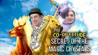 Let's Play Secret of the Magic Crystals! (Co-Optitude w/ Ryon & Felicia Day)