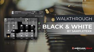 Checking Out Sampletekk Black and White Piano Bundle