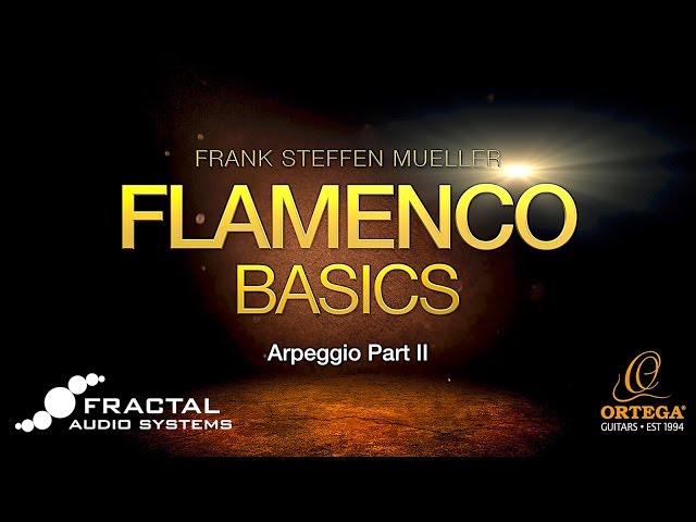 Flamenco Guitar Basic Lessons | Arpeggio (part 2) | Frank Steffen Mueller