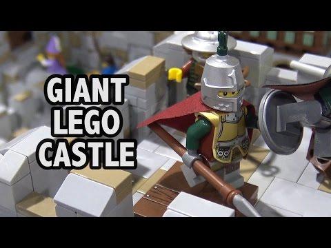 Giant LEGO Clarendon Castle   BrickFair Alabama 2017