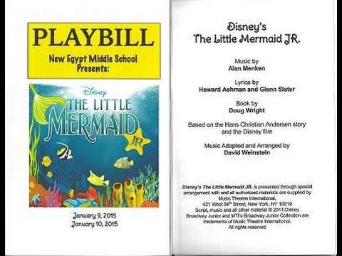 The Little Mermaid JR, New Egypt Middle School Grades 6th-8th