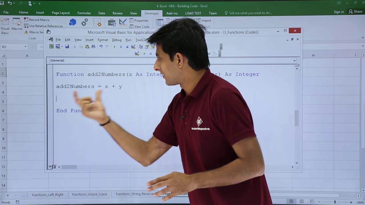 Excel VBA   Create Functions