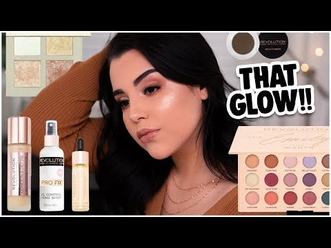 TRYING HOT PRODUCTS FROM MAKEUP REVOLUTION: NEW & OLD MAKEUP RELEASES! | MakeupByAmarie