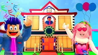 ROBLOX🎊NEW PARTY HOUSE🎉MEEPCITY
