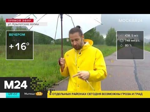 """""""Утро"""": погода в Москве ухудшилась - Москва 24"""