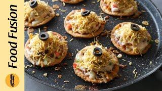 Papri Pizza Recipe By Food Fusion