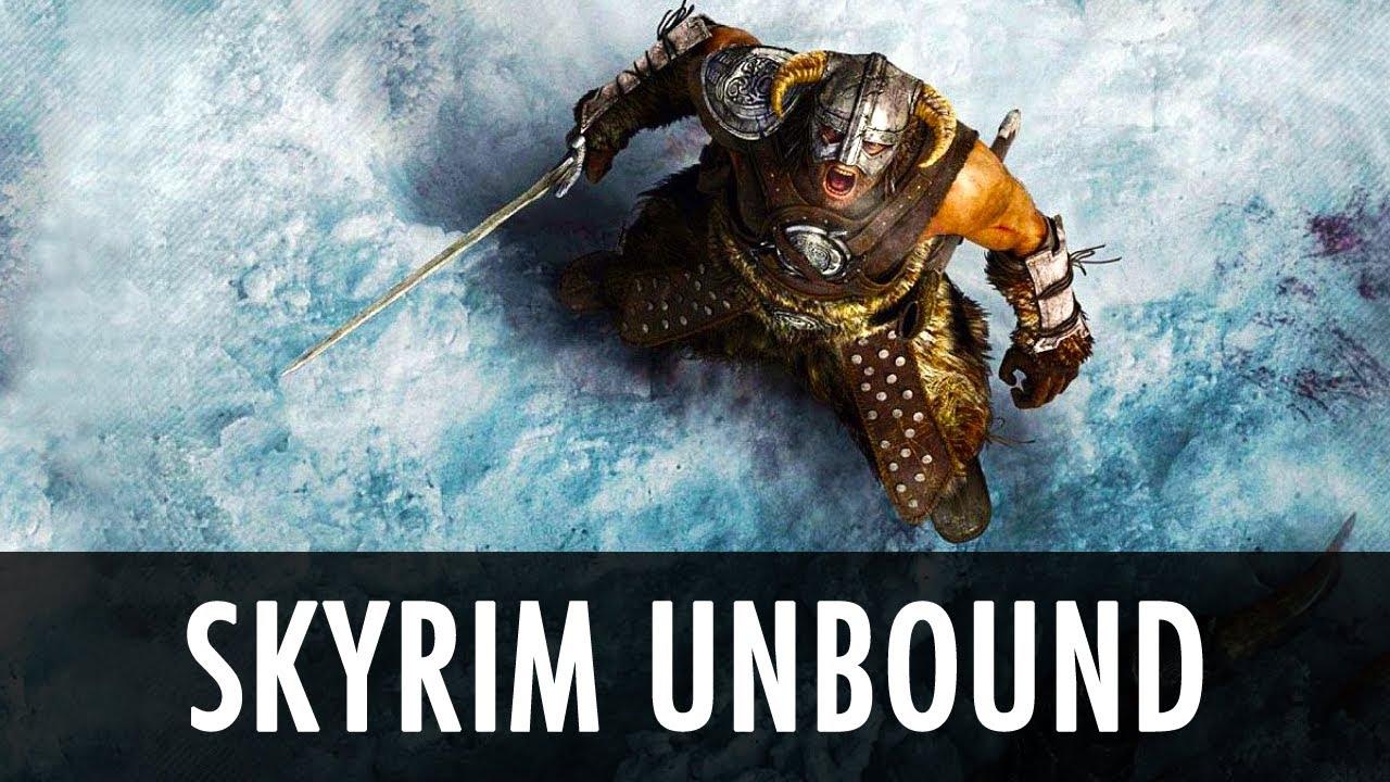 Skyrim unbound rus скачать