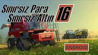 FARMİNG SİMULATOR 16 HİLE SINIRSIZ PARA SINIRSIZ ELMAS FS16 MOD APK