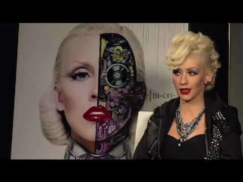 Christina Aguilera - Bionic Interview - Pt. 1