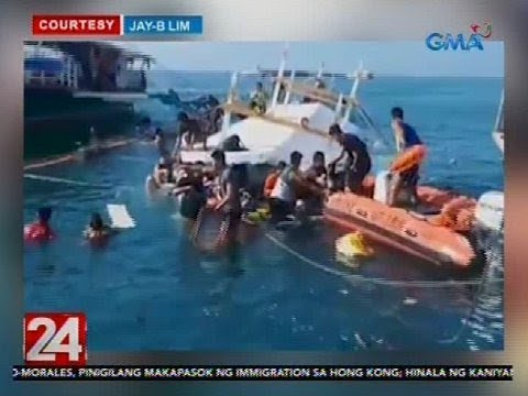24 Oras: Tour boat na maglilibot sana sa isla, lumubog