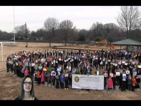 Saint Paul School Students Celebrate World Peace Day
