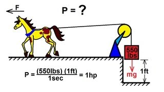 Physics - Mechanics: Work, Energy, and Power (12 of 20) What Is A Horsepower?