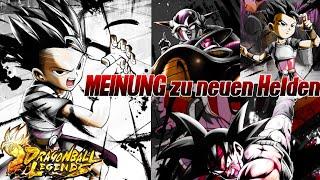 MEINE Meinung zu den neuen Helden! Bardock, Freezer und Cabba ;) | Dragon Ball Legends Deutsch