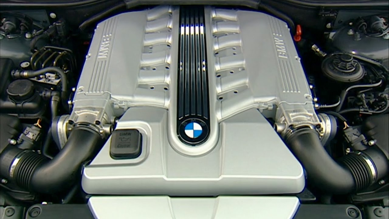 2003 Bmw 760li 12 Cylinder Engine E66 7 Series Youtube V12 Diagram