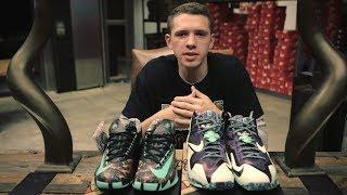 "Nike LeBron 11 ""Gator King"" & Nike KD VI ""Illusion"" Unboxing"