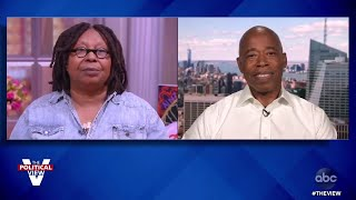 NYC Mayoral Candidate Eric Adams Reacts to Election Board's Bungled Ballot Counting