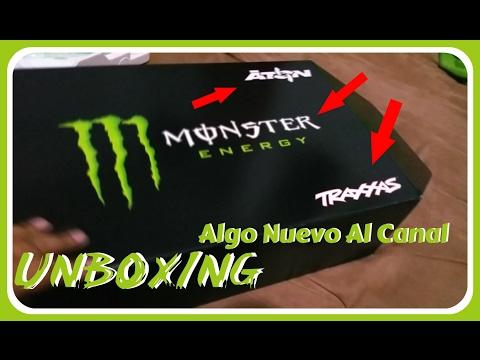 UNBOXING   Traxxas Aton Monster Energy editon - YouTube