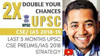 Last 5 Months UPSC CSE/IAS Prelims 2018 Strategy - Double your Chances by Roman Saini