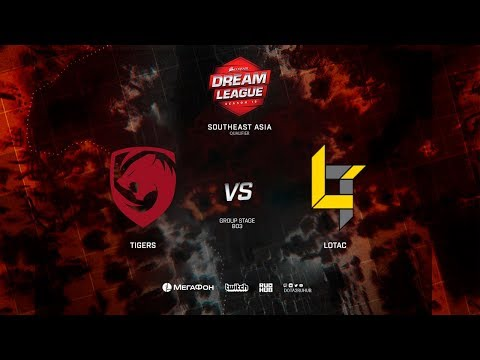 Lotac vs Tigers, DreamLeague Minor Qualifiers SEA,bo3, game 1 [Lex and 4ce]