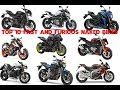 Top 10 Fast And Furious Naked Bikes That Are Perfect For Any Rider | List Top 10 Best Naked Bikes
