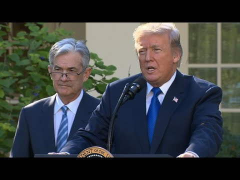 President Trump picks Jerome Powell for Fed chair