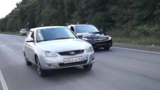 Honda Accord 7  vs  Лада Приора