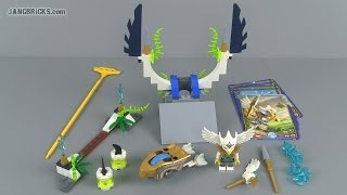 LEGO Chima Speedorz 70139 Sky Launch set review! (2014)
